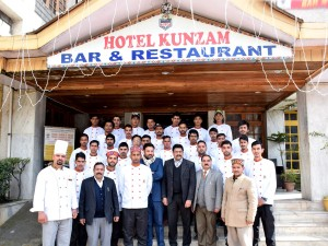 HSRT Training at Hotel Kunzam, Manali